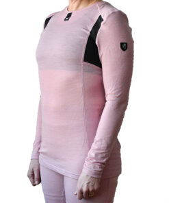Merino Pro baselayer sweater W - Pink