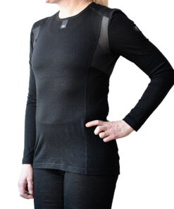 Merino Pro baselayer sweater W - Black